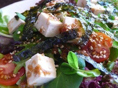 Food Endeavours of the Blue Apocalypse: Japanese Tofu Salad