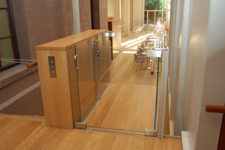 Custom Enclosure Vertical Platform Wheelchair Lifts | Handi-Lift