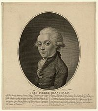 Jean-Pierre Blanchard, one of my ancestors