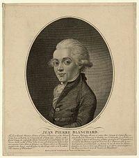 Jean-Pierre Blanchard, one of my ancestors