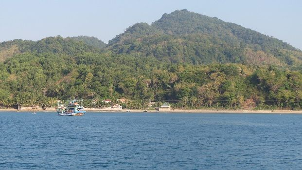 We only stopped one night at Bawean where we didn't go ashore although it was a delightful spot to anchor overnight.