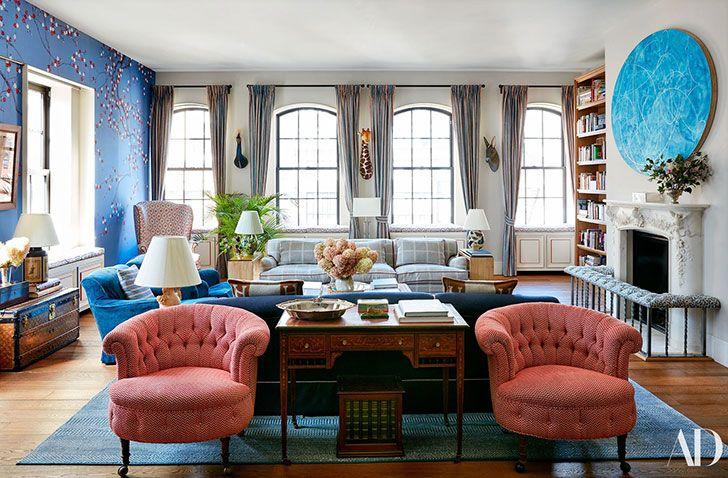 Эклектичный пентхаус Ники Хилтон в Нью-Йорке | Пуфик - блог о дизайне интерьера