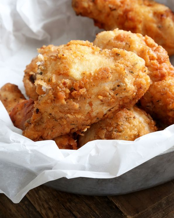 Gluten Free Fried Chicken KFC-Style - Gluten Free on a Shoestring For a grain free version, I'm going to try using parm cheese and almond flour.