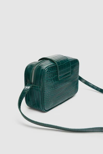 9571f54ce5 Image 5 of EMBOSSED SQUARE CROSSBODY BAG from Zara