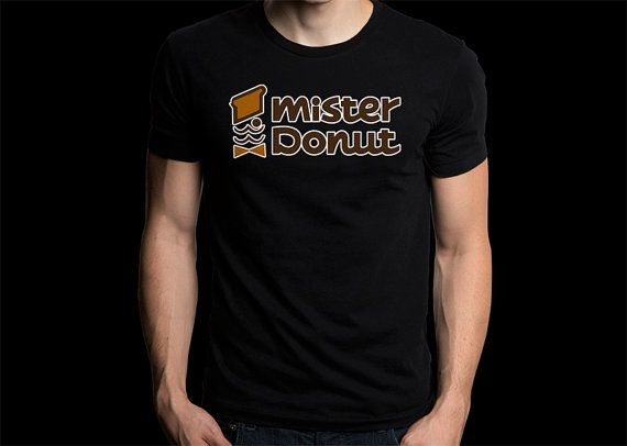 Gildan T-Shirt Mister Donut Tee Size S-2XL For Man's Gift