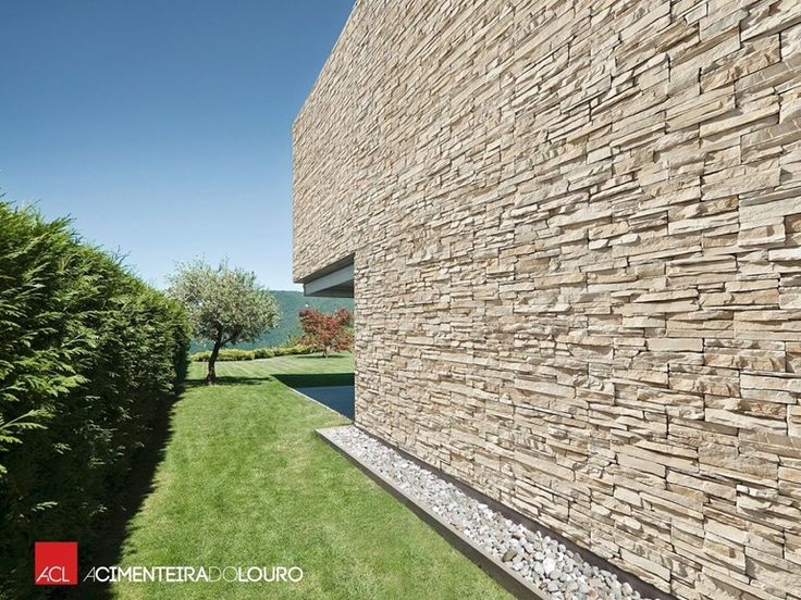 17 best ideas about revestimiento de fachadas on pinterest - Revestimiento piedra artificial ...