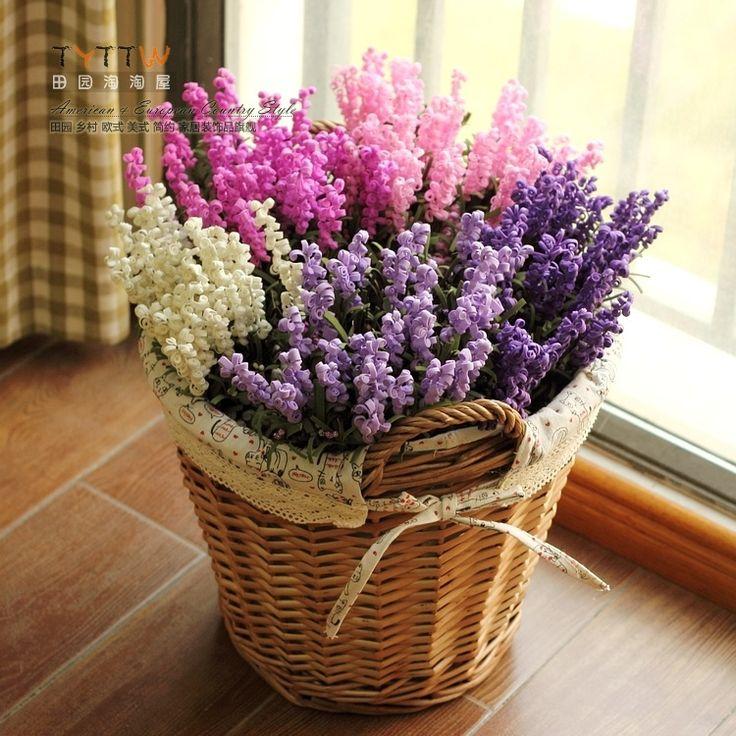 Panier A Fleur Mariage Pas Cher : Pas cher pcs lote d?coratifs pour la maison fleurs pe