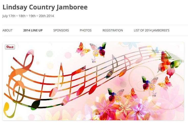 Where'd everybody go? Lindsay #CountryMusic Jamboree of Course! July 16- 20th 4 days of fun! Rough Camping available see details  by clicking the pic!