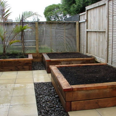 10 best ideas about backyard planter boxes on pinterest for Garden box landscape and design