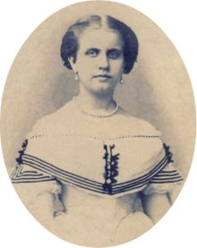 Princess Leopoldina of Brazil around 1864 approx age 17 yrs. These two Braganzan princesses, Leopoldina and her sister Isabel, were not very attractive. In fact, a surprising number of the Roman Catholic Royals were not very good looking. They tended to have much stronger features and lacked the bland prettiness of the mostly Protestant German royals.