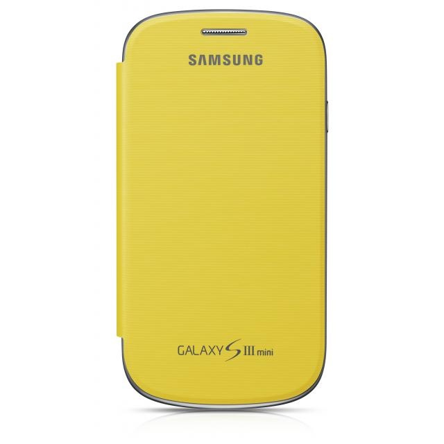 Etui Folio Samsung Galaxy S3 mini Jaune