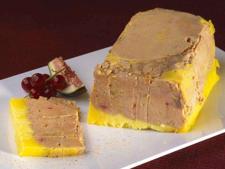 Terrine de foie gras mi-cuit inratable