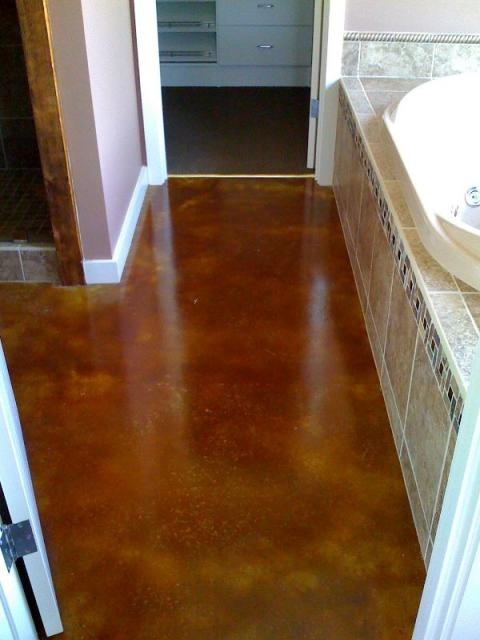 48 best decorative concrete images on pinterest - Bathroom remodeling charlottesville va ...