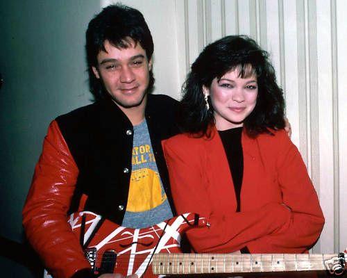 Eddie Van Halen and Valerie Bertinelli 1985 | Flickr - Photo Sharing!