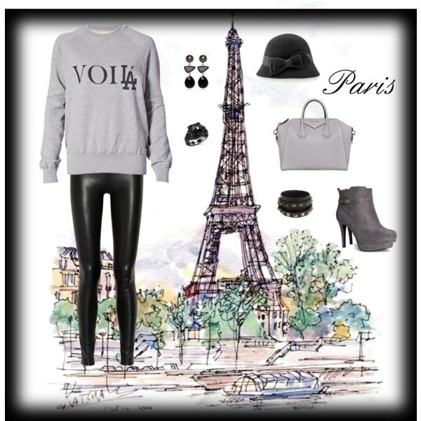 """""""Voila ,Paris!"""" by red-fashion on Polyvore"""