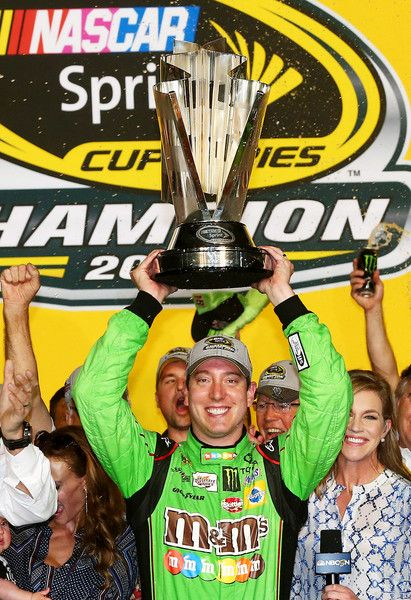 Kyle Busch Photos Photos - Kyle Busch, driver of the #18 M