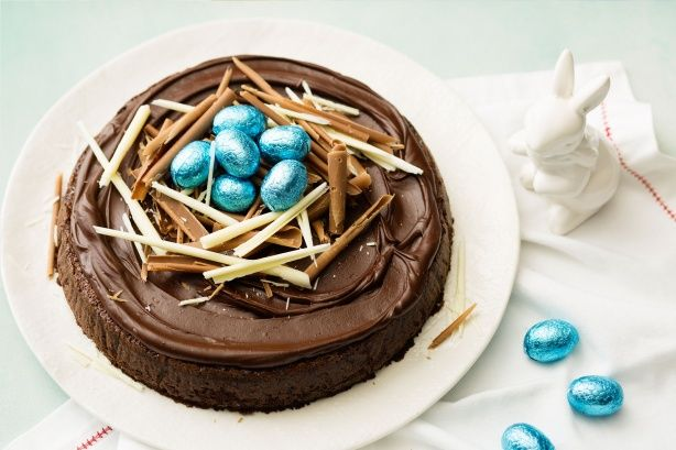 Easter chocolate cake main image