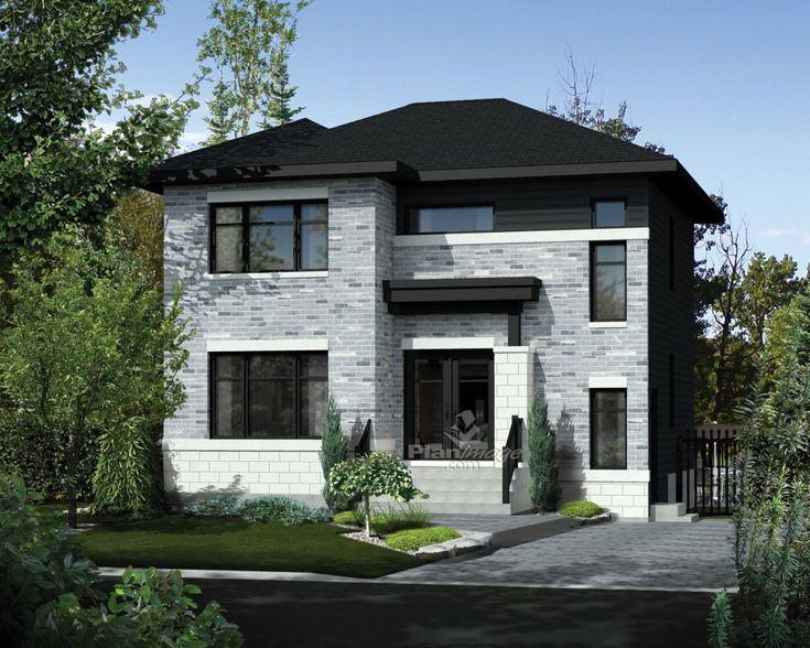 Voici un bel exemple d une maison tage id ale pour une for Ajouter un etage a une maison