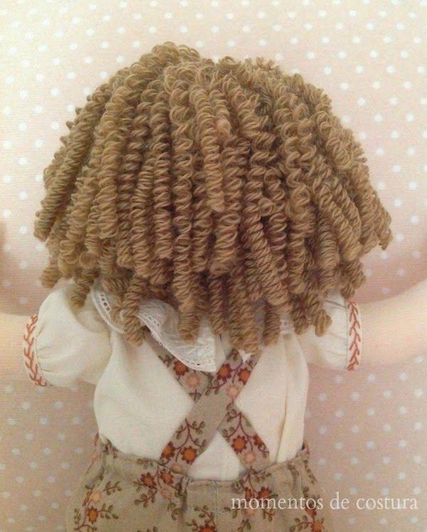 Momentos de Costura: Tutorial: Rizar pelo de muñeca