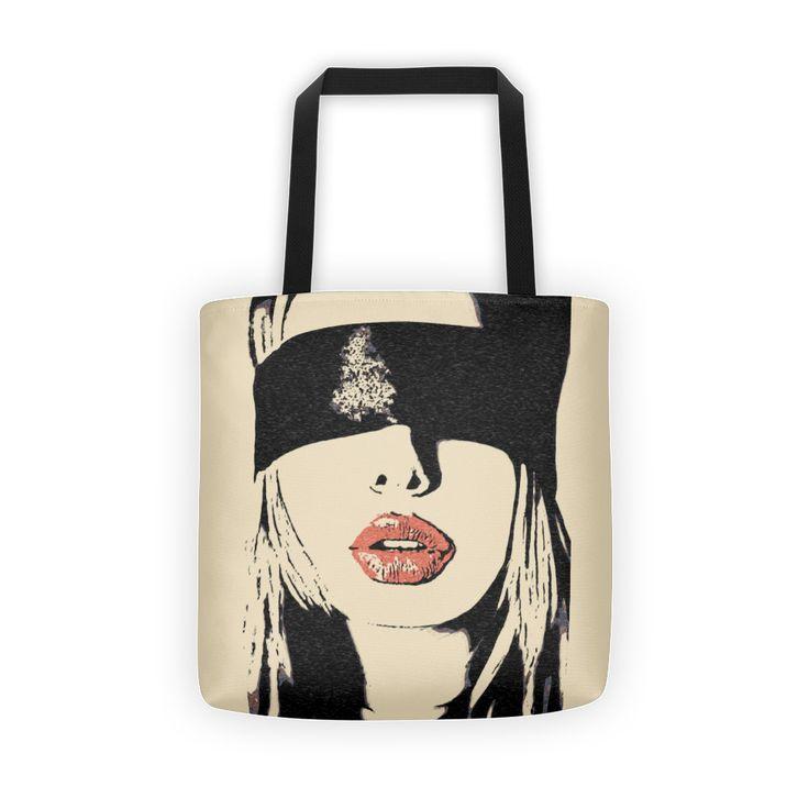 Sexy Erotic Mask Kinky Naughty Girls Tote Bags by Casemiro Arts | Inktale