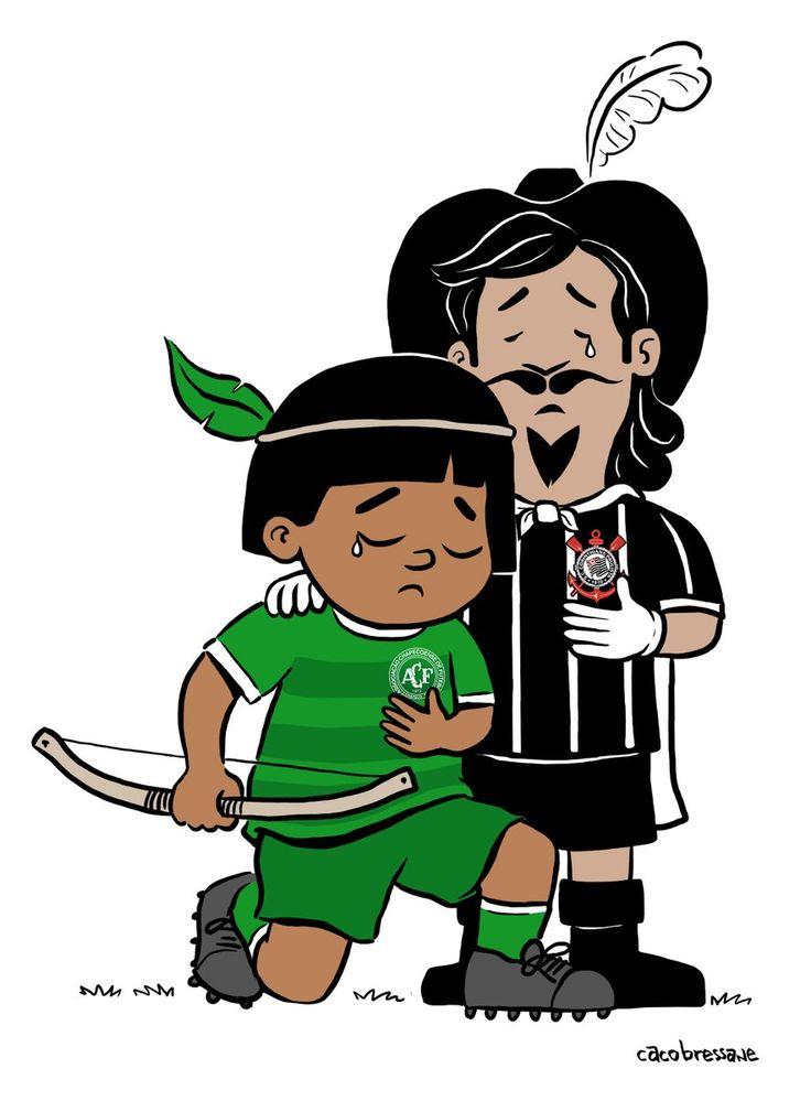 Sport Club Corinthians Paulista - Solidariedade com a Chapecoense