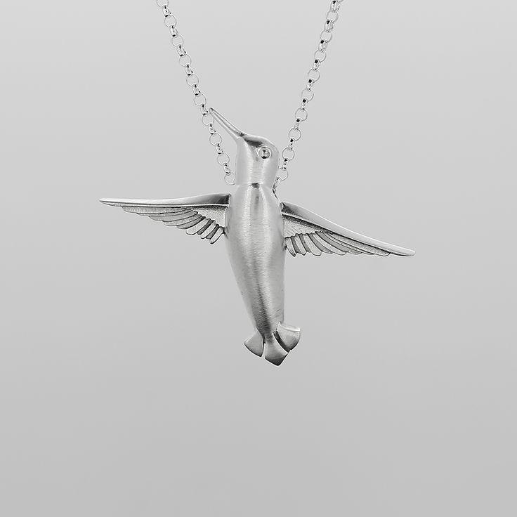 Kolibri-Riipus Sterling Hopea