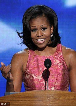 Michelle Obama Bikini | Michelle Obama addresses the Democratic National Convention with three ...
