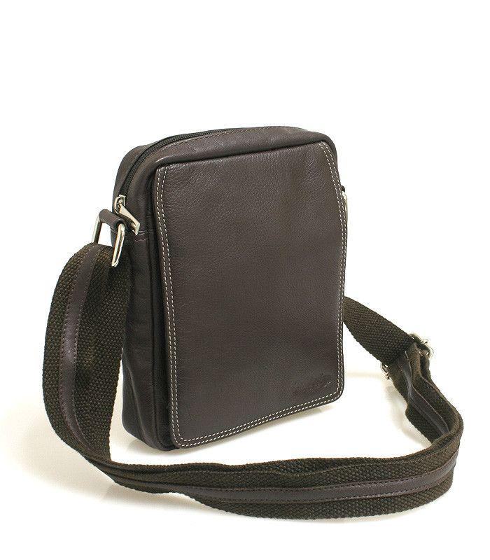 #taška #doklady Hnědá pánská taška na doklady SendiDesign (dříve Enrico Benetti) z pravé kůže. Uvnitř – kapsa na zip. Zepředu – pod klopnou na cvoček je kapsa na zip, přihrádky na karty, kapsička na mobil a propisku. Zezadu – kapsa na zip. Součástí tašky je nastavitelný popruh v kombinaci textil/kůže.