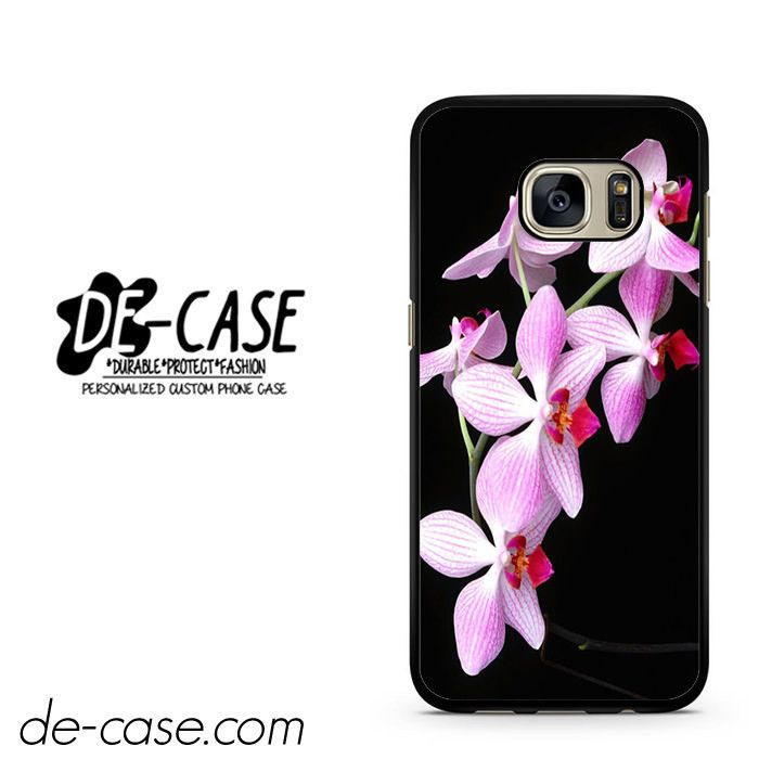 Beautiful Orchid Flower DEAL-1667 Samsung Phonecase Cover For Samsung Galaxy S7 / S7 Edge