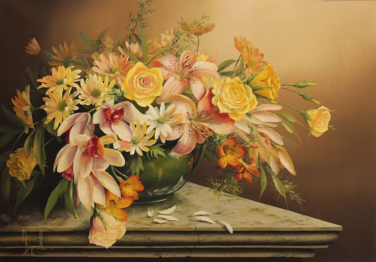 Mary Dipnall — Pink Bouquet