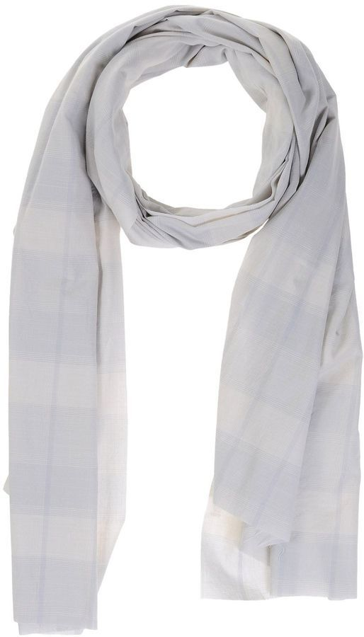$39, U-NI-TY Oblong Scarves. Sold by yoox.com. Click for more info: https://lookastic.com/men/shop_items/308137/redirect
