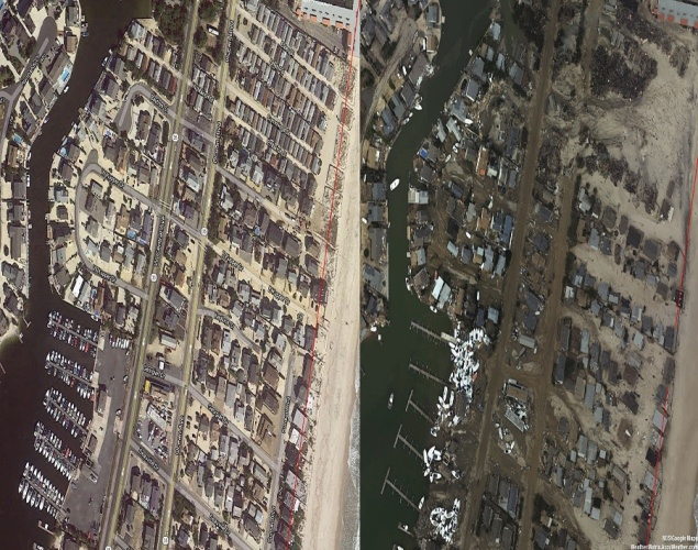 Seaside Heights, NJ - Hurricane Sandy damage: Before & after photos of New York and New Jersey - NY Daily News