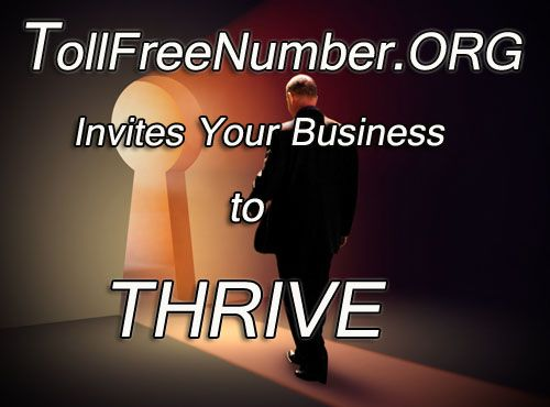 Help your #business thrive with a #tollfreenumber!