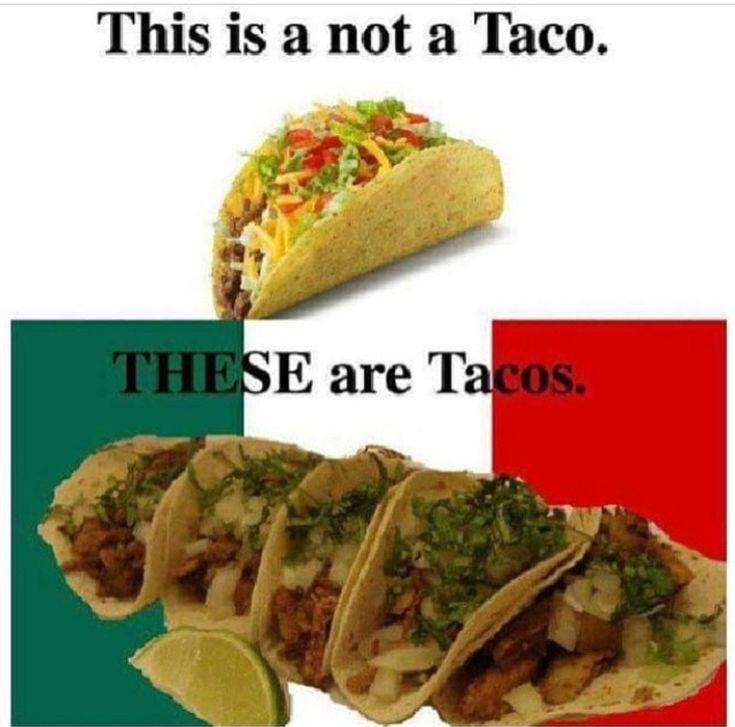 Fake Vs Authentic Mexican Food