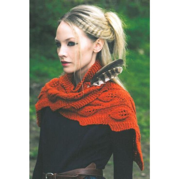 Ladies Scarf knitted in Louisa Harding Esquel