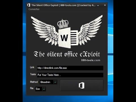 The Silent Office Word Doc Exploit Work All Office & All