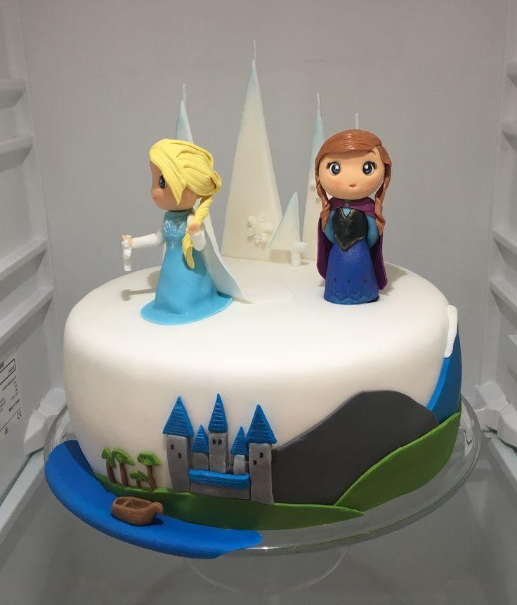 Disney Frozen Cake, dort Ledove kralovstvi
