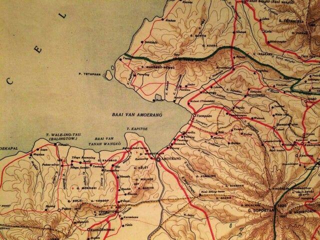 Kaart van de omgeving #sendowanbaru #amurang #sulawesi