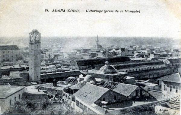The metropoli of Adana and Tarsus were within the limits of the vilayet of Adana and belonged to the Patriarchate of Antioch. The population of the vilayet of Adana in 1892 was 403,500 and consisted mainly of 158,000 Muslims and 68,000 Greek Orthodox, according to M. Chamidopoulos. In 1909, the massacre of the Armenians of Cilicia eliminated almost 40,000 Armenians. The city was the center of the kingdom of Lesser Armenia (Cilicia Armenia) in the 14th century. Source: E.H.W
