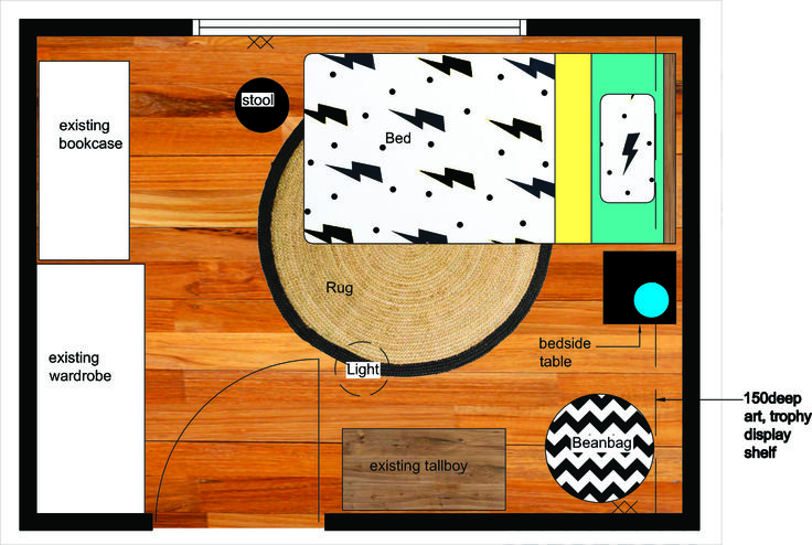 Space Planning for a toddlers room. Follow my blog for tips and advice.