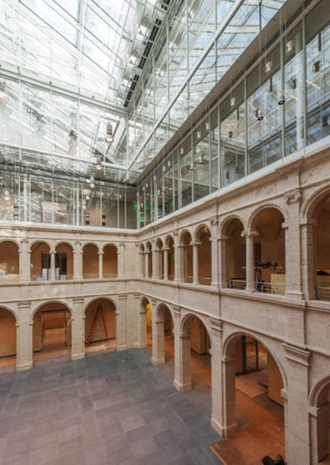 Harvard Art Museums by Renzo Piano