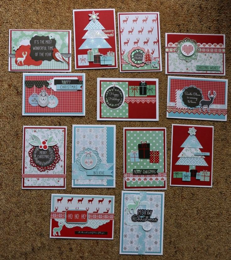 Created by Judith Armstrong using Kaisercraft North Pole
