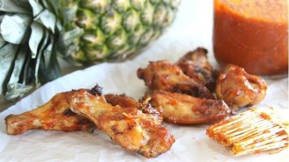 A twist on the standard BBQ sauce, it just zings. Try it! Just toss your grilled chicken wings (or baked, fried, smoked, you choose) in a big bowl of the sauce, and voila – all done. I bet you won't be able to keep your hands off them.