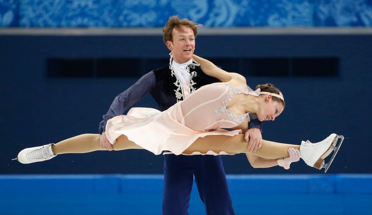 9 jaw-dropping photos that will make you believe in ice dancing - The Week - Germany: Tanja Kolbe and Stefano Caruso. | (REUTERS/Lucy Nicholson)