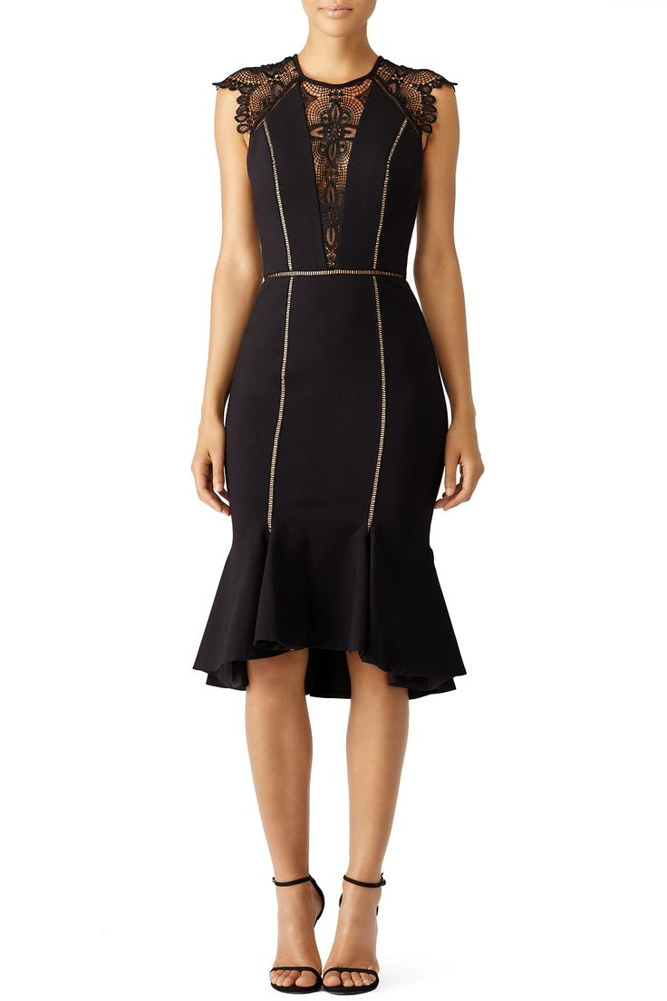 Rent Black Gemini Dress by CATHERINE DEANE for $125 - $135 only at Rent the Runway.
