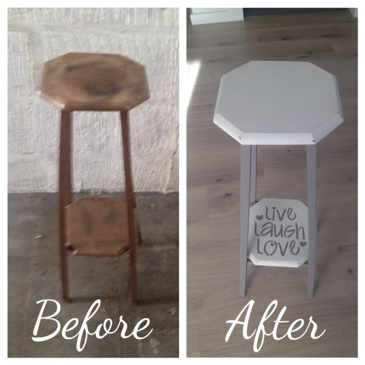restyled Side table
