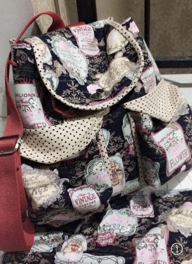 Linen back pack