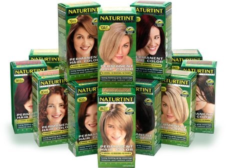 Naturtint Hair Care Products are all natural hair dyes with no harsh chemicals. They can be found at many health/whole food stores.