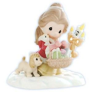 Disney Precious Moments Figurine - It Is In The Giving That We Receive