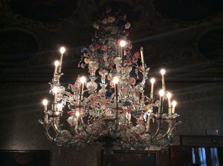 Muran Glass Chandelier - Ca'Rezzonico - Venice